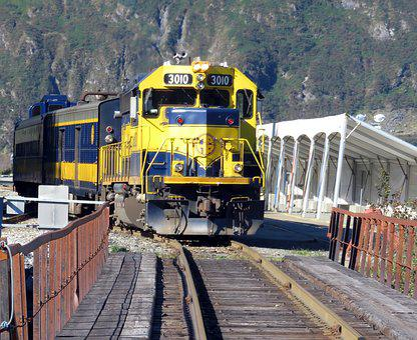 Railroad, Train, Locomotive, Track, Journey, Transit