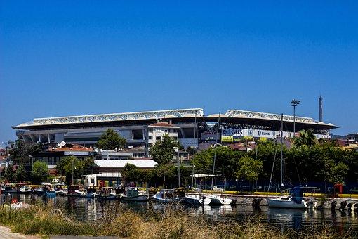 Kadıköy, Stadium, Istanbul, Sky, Fenerbahce, Turkey
