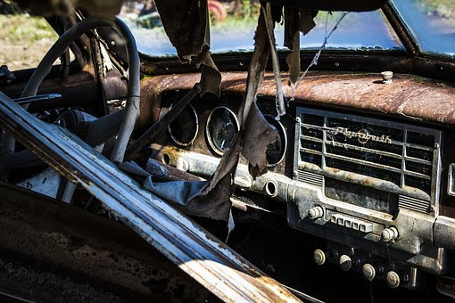 Car, Vehicle, Transportation, Old, Vintage, Rusty