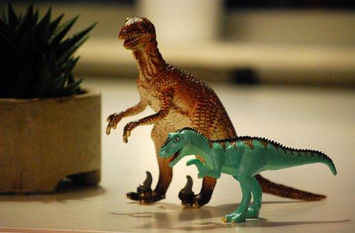 Dinosaur, Toy, T-rex, Animal, Monster, Jurassic, Dino