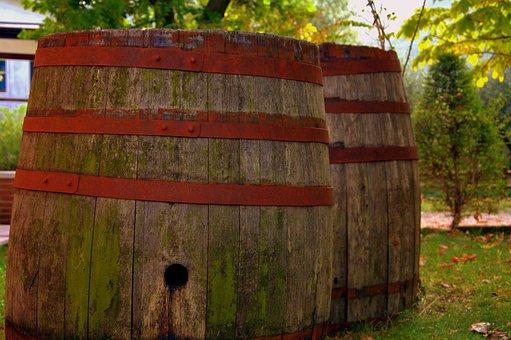 Botte, Wine, Tino, Ancient, Barrel, Wooden Barrels