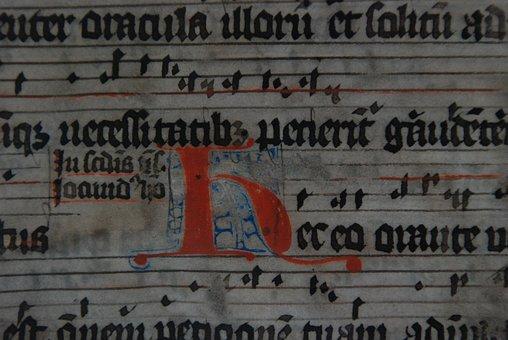 Manuscript, Illumination, Illuminated, Book