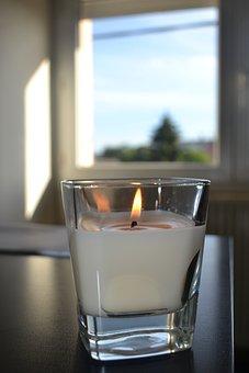 Light, Candela, Day, Glass, Decor, Before