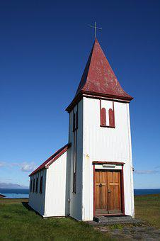 Iceland, Church, Christianity, Nature, Religion