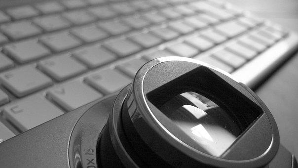Lens, Photography, Keyboard, Computer, Photograph