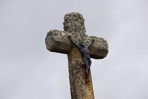 Cross, Christ, Religion, Jesus Christ, Sky