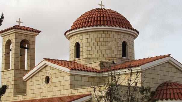 Cyprus, Sotira, Church, Ayia Paraskevi, Architecture