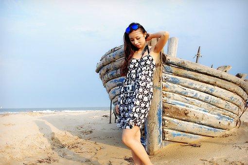 Beauty, Sky, Beach, The Scenery, Cloud, Day, Chengde