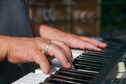 Keyboard, Music, Piano, Instrument, Equipment, Musician