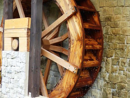 Wheel, Mill, Mill Wheel, Water, Ferris Wheel, Machine