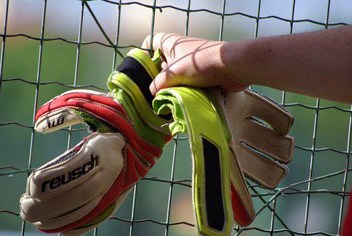 Sport, Football, Sports, Player, Goalkeeper, Gloves