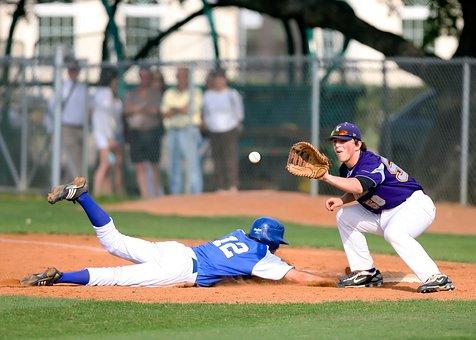 Baseball, High School, Sport, Competition, Athletics