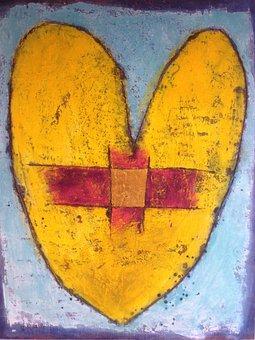 Heart, Cross, Healing, Christianity, Holy, Christ
