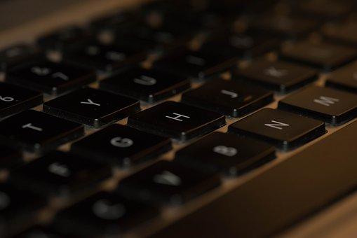 Keyboard, Laptop, Computer, Internet, Communication