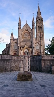 Church, Catholic, Roman, Monaghan, Ireland, Cathedral