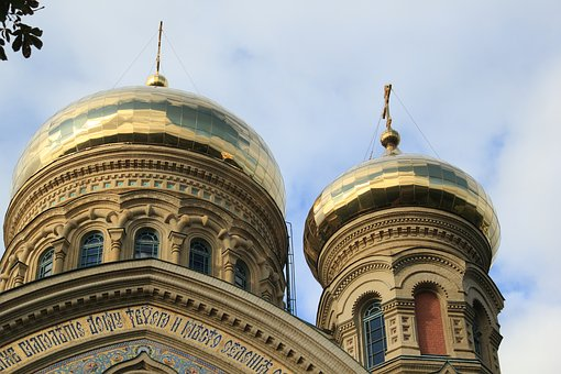 Latvia, Liepaja, Karosta, Russian, Orthodox, Church