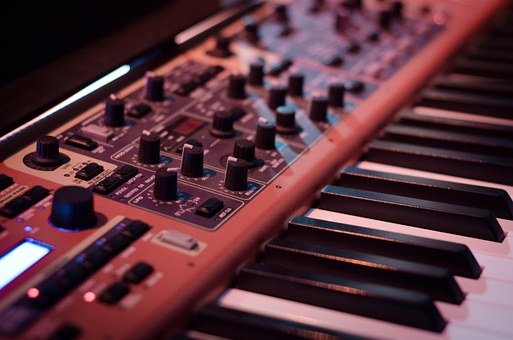 Synthesizer, Instrument, Music, Sound, Musical, Piano