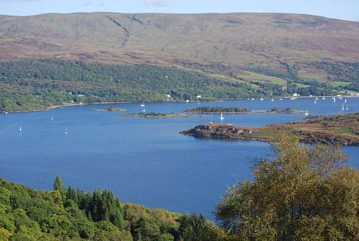Kyles Of Bute, Caladh Harbour, Firth, Of Clyde