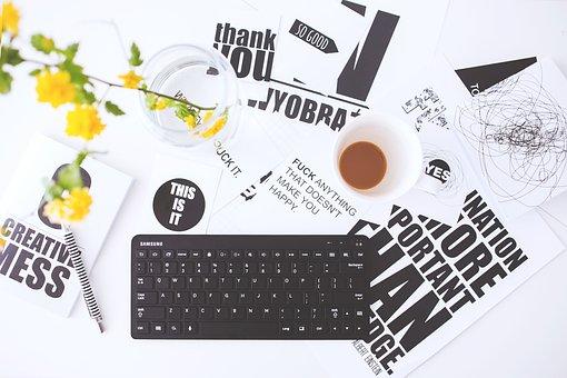 Business, Still Life, Office, Student, Keyboard