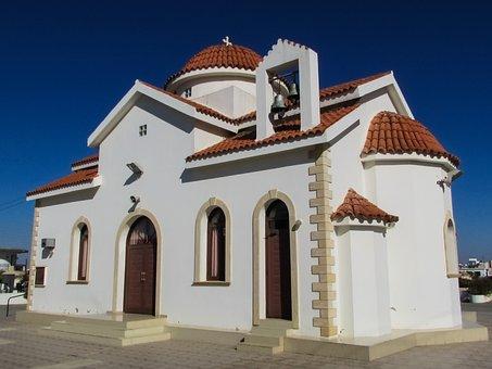 Cyprus, Liopetri, Ayios Epifanios, Church, Orthodox