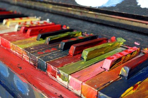 Piano, Musical Instrument, Piano Keyboard, Keys