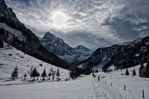 Backcountry Skiiing, Ski Tour, Flachau, Radstadt Tauern