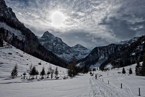 Backcountry Skiiing, Ski Tour, Flachau, Radstadt Tauern