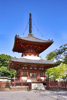 Japan, Saitama Prefecture, Saitama, Kawagoe, Pagoda