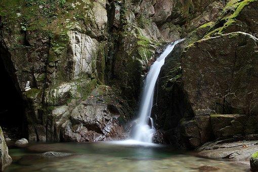 Waterfall, Water, Environment, Nature, Scenery