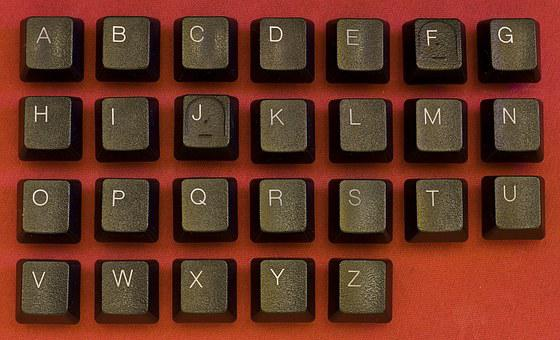 Keyboard, Abc, Alphabet, Button, Key, Letter, Symbol