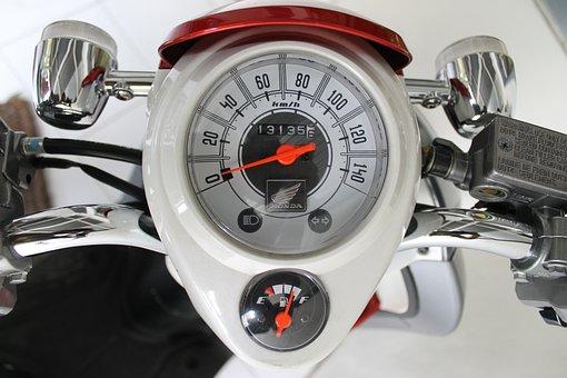 Speed Indicator, Speedometer, Tachometer, Speedo, Tacho