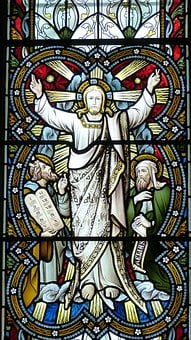 Church, Window, Church Window, Jesus, Transfiguration