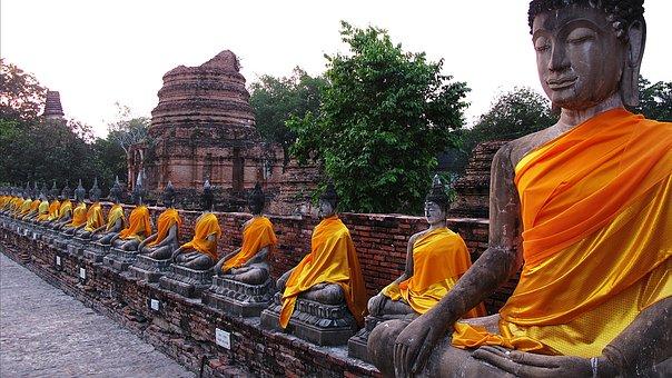 Travel, Images, Thailand, Buddha