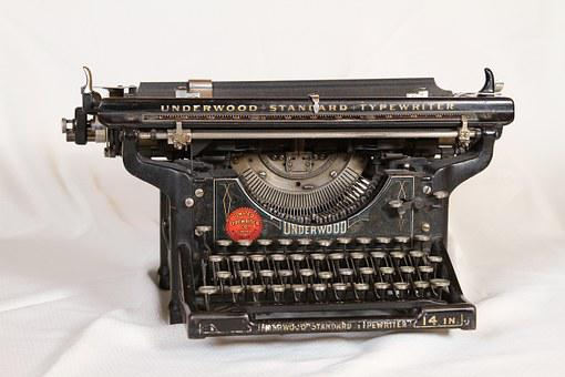 Typewriter, Mechanical, Old, Keyboard, Letter, Key