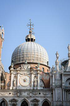 Venice, Church, Doge's Palace, Italy, Architecture