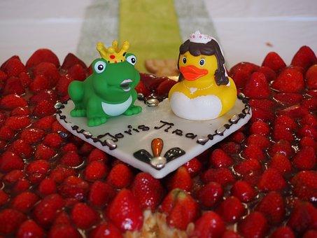 Wedding Cake, Frog Prince, Frog, King, Princess
