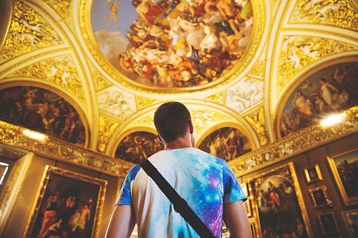 People, Man, Church, Religion, Sacred, Holy, Painting