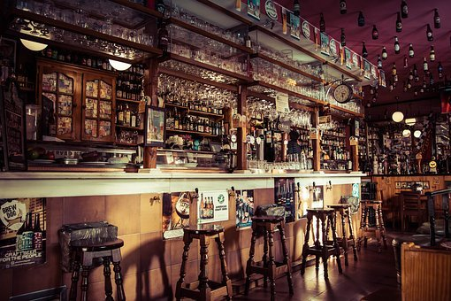 Bar, Drinks, Beverage, Alcohol, Wine, Glass, Chair