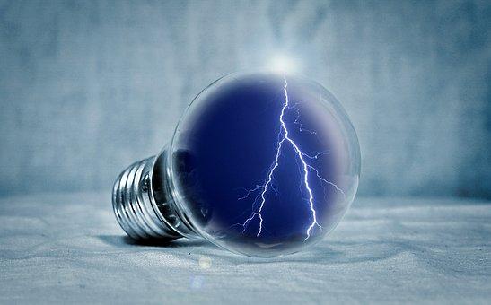 Light Bulb, Light, Pear, Flash, Energy