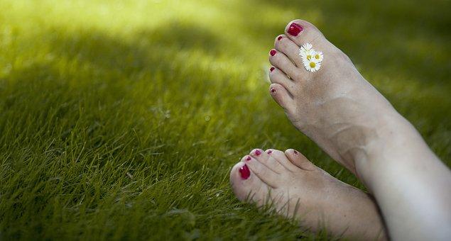 Relax, Summer, Holiday, Garden, Vrij, Freedom, Feet