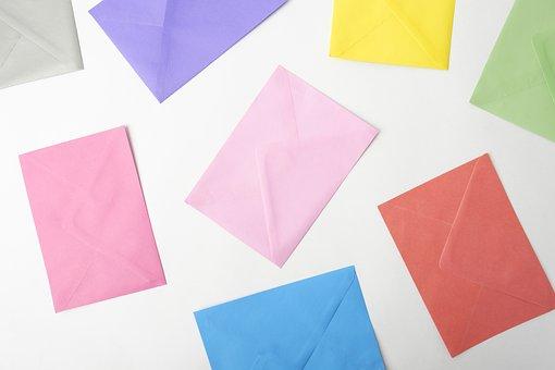 Envelope, Stationery, Invitations, Congratulations