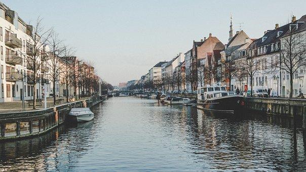 Nature, Landscape, Water, River, Lake, Architecture