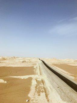 Yuan Wang, Serenity, Stretching, Desert