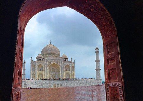 Taj Mahal, Incredible India, Agra, India, Taj