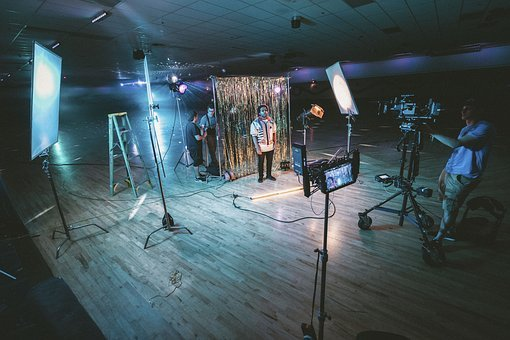 Video, Production, Shoot, Record, Lights, Technology