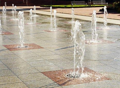 Freudenstadt, Water Feature, Fountain, Green Area, Park