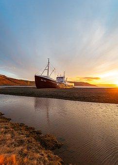 Sea, Water, Coast, Shore, Boat, Transportation, Travel