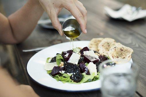Cuisine, Appetizer, Restaurant, Oil, Hand, Gourmet