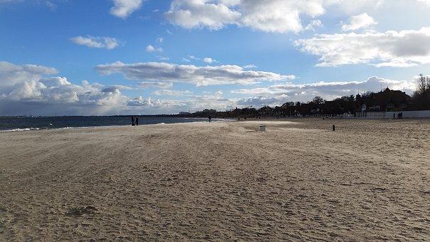 Sea, Sand, Beach, The Baltic Sea, Summer, Landscape