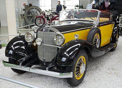 Mercedes Benz, Type 200, W 21, Cabriolet B, Oldtimer